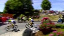 Eng VO: Elia Viviani wins stage four of the Tour de France