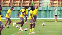 Benin train on eve of Africa Cup of Nations quarter-final against Senegal