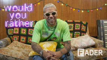 Jhay Cortez has thoughts about unicorns, and they will melt your heart on 'Would You Rather'