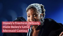 Disney's Freeform Defends Halle Bailey's 'Little Mermaid' Casting