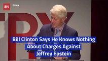 Bill Clinton Makes A Statement Regarding Jeffrey Epstein