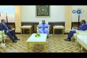 RTG/Le Président de la République a reçu le Premier Ministre Julien Nkoghe Bekale