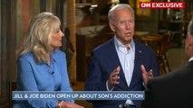Jill and Joe Biden Open Up About Son Hunter's Addiction Battle: 'He Will Beat This'