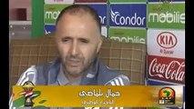 Belmadi : «On est habité par le résultat»