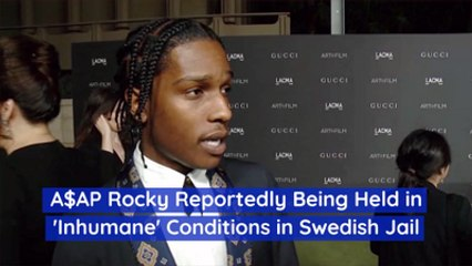 Asap Rocky's Jail Conditions In Sweden