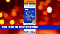 Full version  The 7 Habits of Highly Effective People  Best Sellers Rank : #4