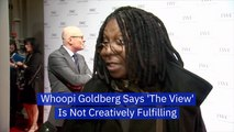 Whoopi Goldberg Is Mentally Tired Of 'The View'