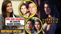 Elnaaz Norouzi On Working With SRK, Salman, Saif Ali Khan, Nawazuddin | Sacred GAMES 2