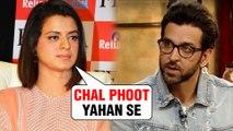 Rangoli Chandel SLAMS Hrithik Roshan For Talking About Kangana Ranaut