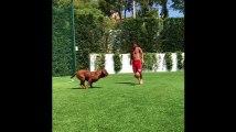 Lionel Messi s'entraîne avec un adversaire surprenant, avant le début de la nouvelle saison