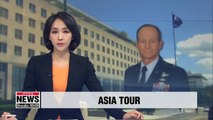 Top U.S. diplomat for Asia Pacific visiting 4 Asian countries including S. Korea, Japan