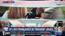 22% des Françaises se trouvent jolies