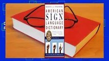 American Sign Language Dictionary  Best Sellers Rank : #5 Full version  American Sign Language
