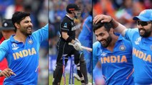 ICC Cricket World Cup 2019: India V New Zealand : Ravindra Jadeja Completes 25th Over In 91 Seconds