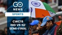 CWC19 Semi-final: India Vs New Zealand