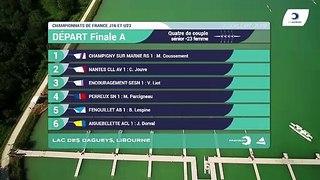 Championnat de France S-23 Bateaux longs Libourne 2019 - Finale du quatre de couple femmes S-23F4x