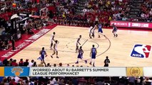 Is Zion's conditioning a problem What's up with RJ Barrett's summer league struggles _ The Jump