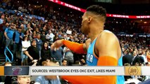 Russell Westbrook wanted out of OKC even before Paul George trade - Marc J. Spears _ The Jump