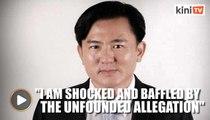 Perak exco member Paul Yong denies rape allegation