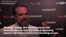 David Harbour Stranger Things Season 3 Finale Is Moving