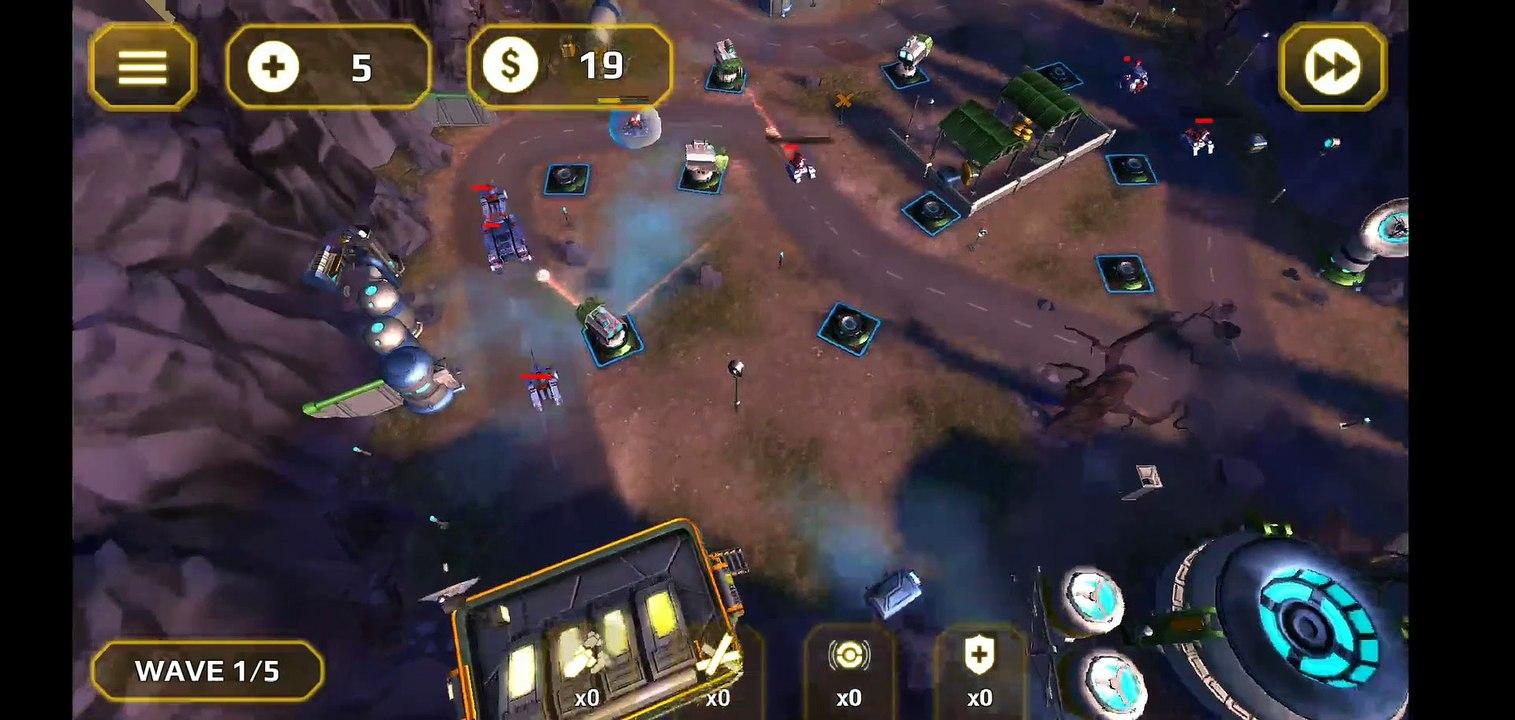 Tower Defense Generals Gameplay 6