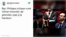 Bac 2019. Philippe critique «une infime minorité» de grévistes «pas à la hauteur»