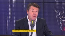 """Municipales à Nice : """"Je ne laisserai pas ma ville être prise en otage par quel qu'état-major politique que ce soit"""" affirme Christian Estrosi"""