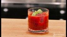 Recette : Cocktail de fruits rouges à la vodka et au basilic