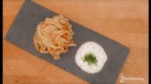 Recette : Galettes de pommes de terre, sauce à l'aneth