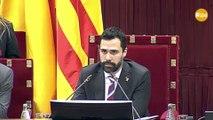 Torrent crida a l'ordre Alejandro Fernández per haver insultat Torra