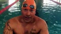 Rémy Viallon s'entraine à l'Aquagaron de Brignais