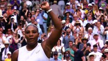 Digitally-cleared wrap from day eight at Wimbledon, with Williams beating Riske