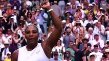 Feature: Digitally-cleared wrap - Day 8 at Wimbledon, with Williams beating Riske
