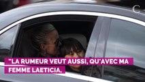 Quand Johnny Hallyday lançait un cri du coeur à Laeticia, Laur...