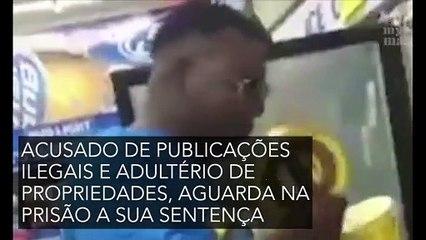 Um homem enfrenta a justiça após publicar vídeo com piada de mau gosto