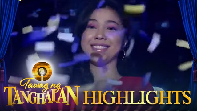 Mariane Osabel wins the golden microphone for the third time | Tawag ng Tanghalan
