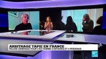 """Arbitrage Tapie : relaxe générale, mais """"la longue saga Tapie n'est pas tout à fait terminée"""""""
