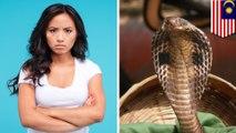 Setelah marah dengan pacarnya, wanita ini berhasil bunuh kobra - TomoNews