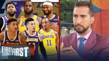 Nick Wright lays out the best lineup for LeBron, Lakers _ NBA _ FIRST THINGS FIRST