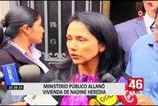 Fiscal Geovanna Mori detalló el porqué se allanó vivienda de Nadine Heredia
