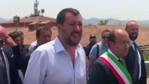 Italy's Matteo Salvini live broadcasts closure of one of Europe's largest migrant centres