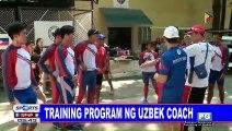 Training program ng Uzbek coach