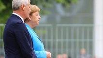 Video: Merkel üçüncü kez titreme nöbeti geçirdi