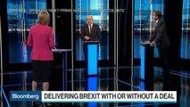 U.K.'s Johnson, Hunt Clash on How to Deliver Brexit