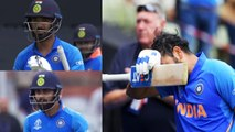 World Cup 2019 IND vs NZ Semifinal: India lose Rohit, Kohli and Rahul in 240 chase | वनइंडिया हिंदी