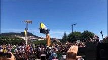 Le départ du Tour de France  à Saint-Dié
