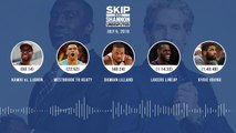 UNDISPUTED Audio Podcast (07.09.19) with Skip Bayless and Shannon Sharpe _ UNDIS