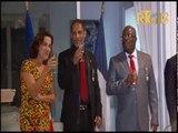 Cérémonie de remise des décorations d'Officiers de l'Ordre du Mérite agricole à Agr.Michel Chancy