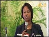 La Première Dame de la République, Martine Moïse participe à la journée mondiale de la santé