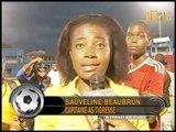 Finale du championnat national  du football féminine / AS Tigresse vs Anacaona: 3-1